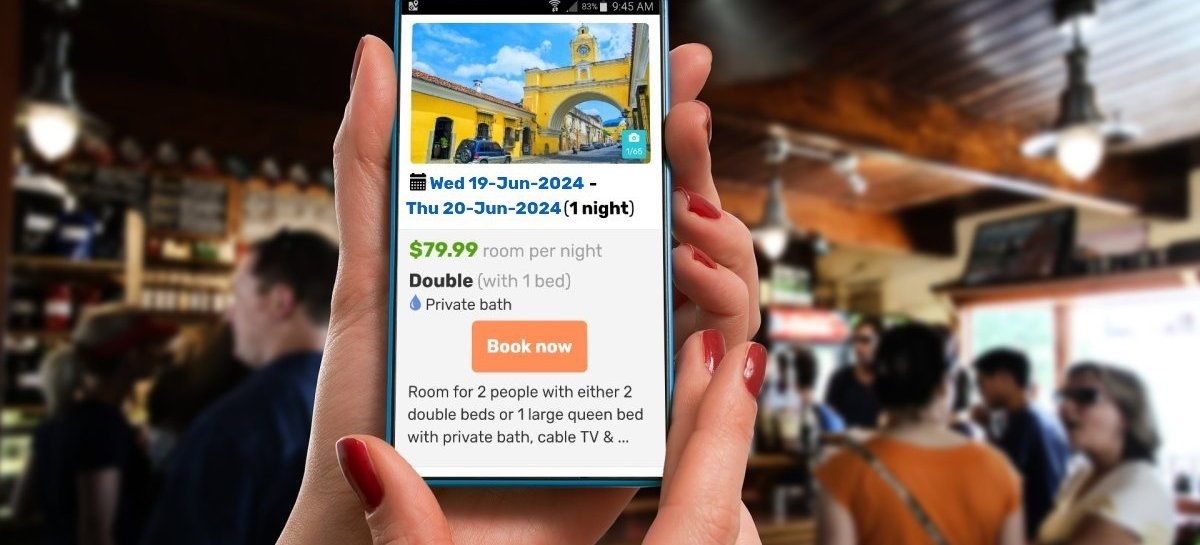 BackpackerInstantBooking.com - Increase reservations with a fully customizable yet cheap and effective booking engine for hostels and hotels