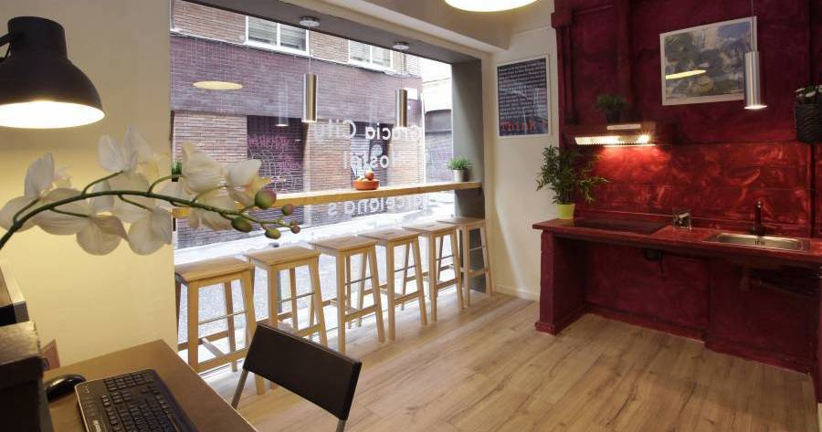 Make cheap reservations at a hostel like Gracia City Hostel