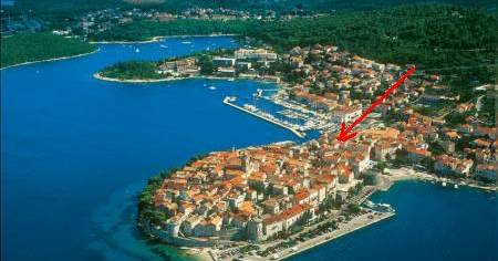 backpacker hostel in Korcula